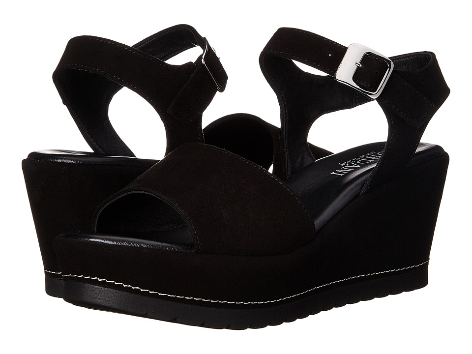 Cordani - Daylee (Black Suede) Women's Wedge Shoes