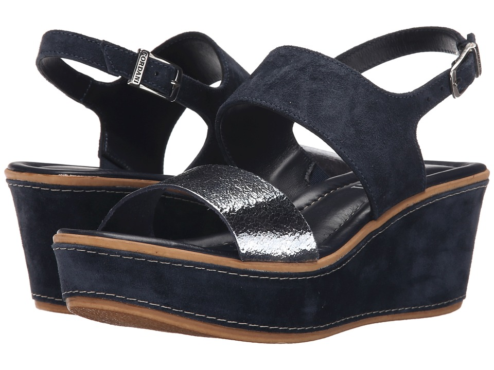 Cordani - Karlee (Navy) Women's Wedge Shoes