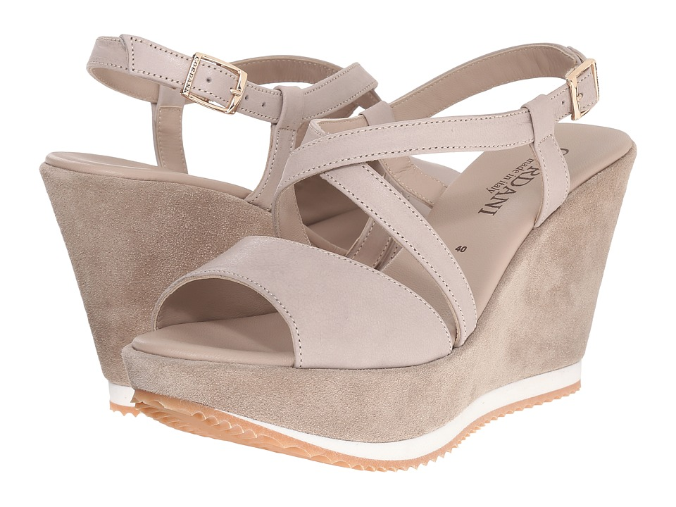 Cordani - Rashelle (Stone Suede) Women's Wedge Shoes
