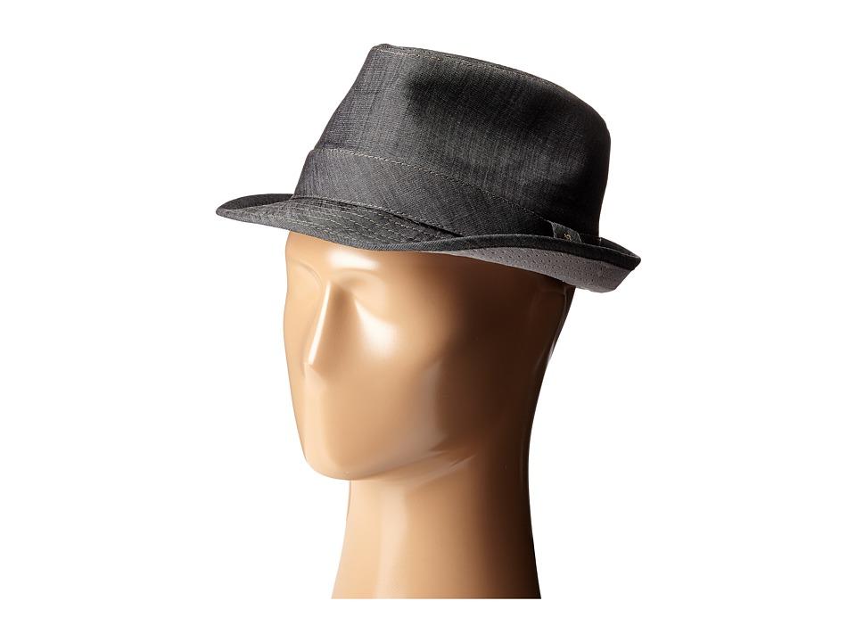 Original Penguin - Chambray Fedora (True Black) Fedora Hats
