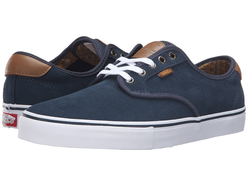 Vans - Chima Pro (Midnight Navy/White) Men's Skate Shoes