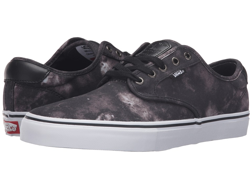 Vans - Chima Pro ((Emulsion) Black/White) Men's Skate Shoes