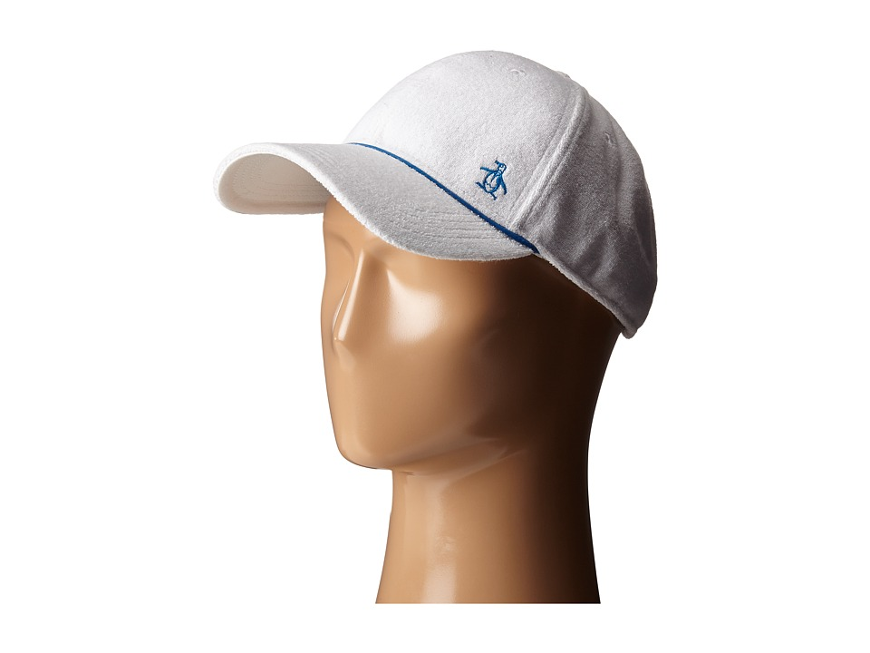Original Penguin - Terry Cloth Baseball Cap (Bright White) Baseball Caps