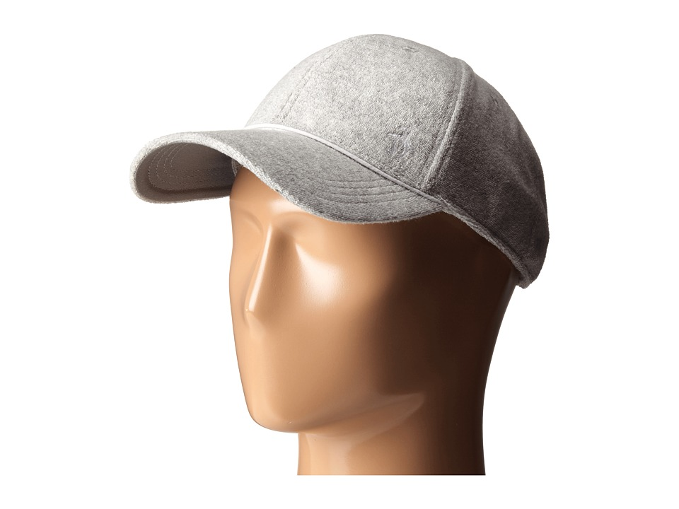 Original Penguin - Terry Cloth Baseball Cap (Athletic Heather) Baseball Caps