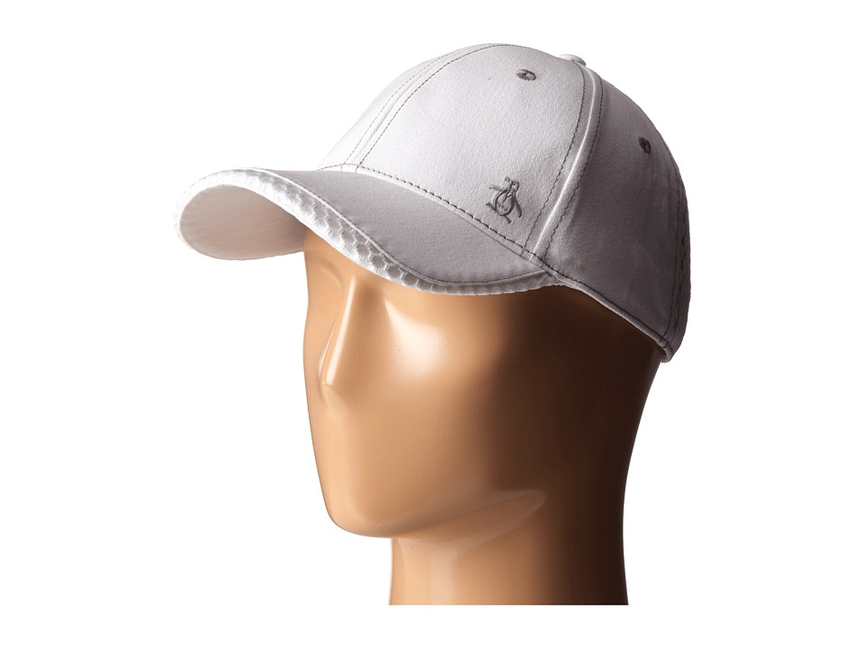Original Penguin - Stretch Fit Baseball Cap (White) Caps