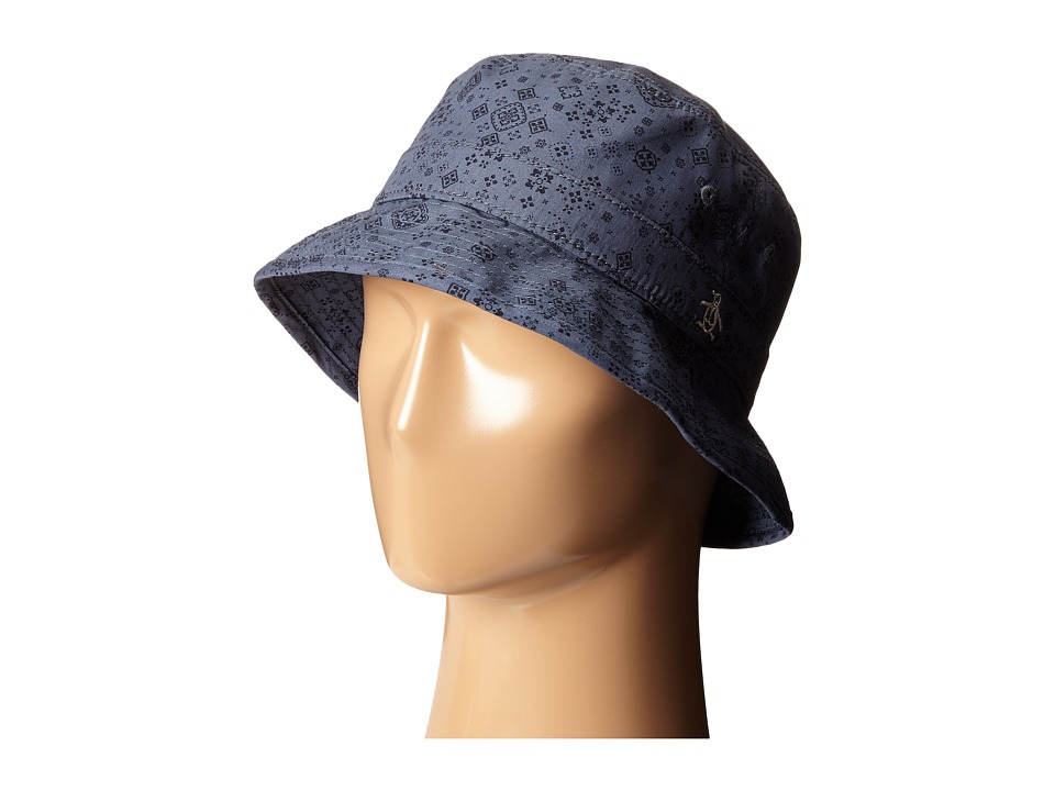Original Penguin - Bandana Print Bucket Hat (Flintstone) Bucket Caps