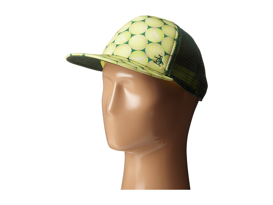 Original Penguin - Tennis Balls Baseball Cap (Tennis Yellow) Caps