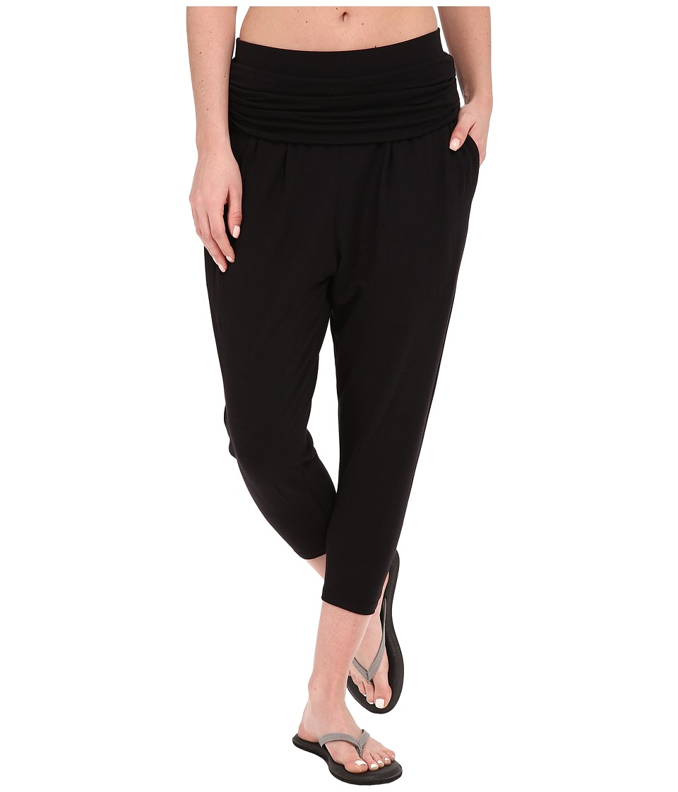 Tonic - Maya Crop (Black) Women's Capri