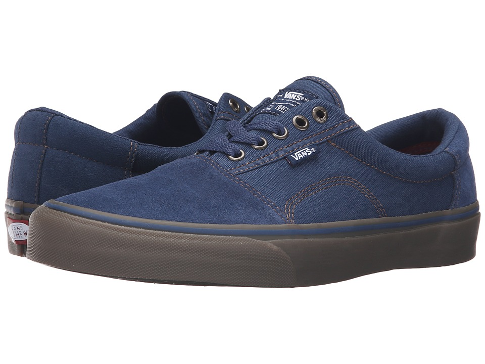 Vans - Rowley [Solos] (Navy/Gum) Men's Skate Shoes
