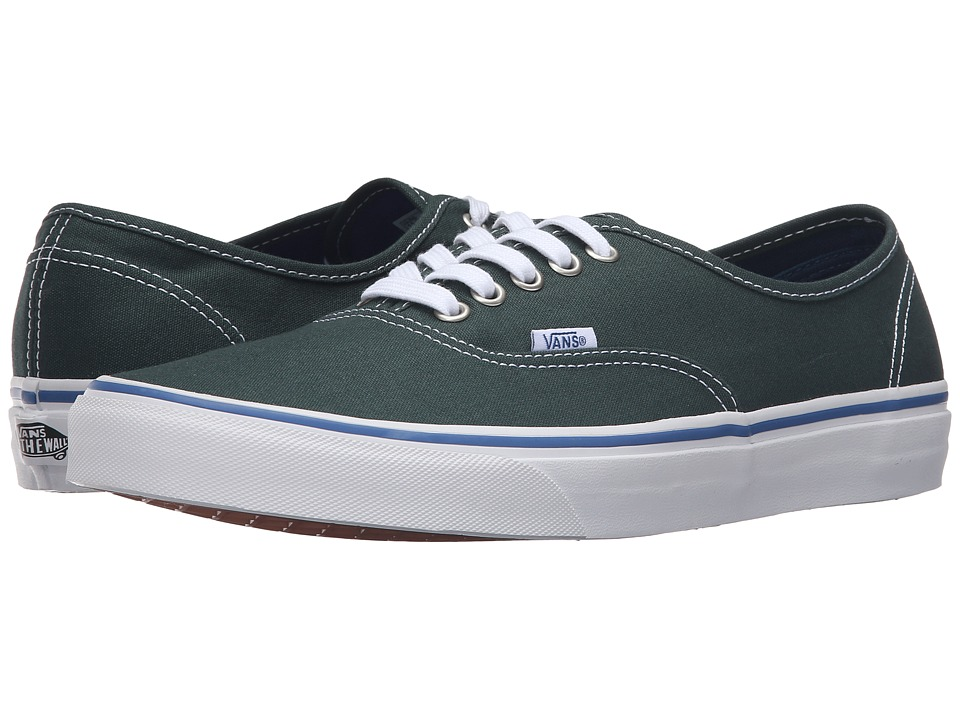 Vans - Authentic (Green Gables/True White) Skate Shoes