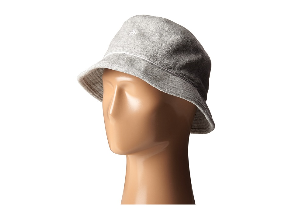 Original Penguin - Terry Cloth Bucket Hat (Athletic Heather) Bucket Caps