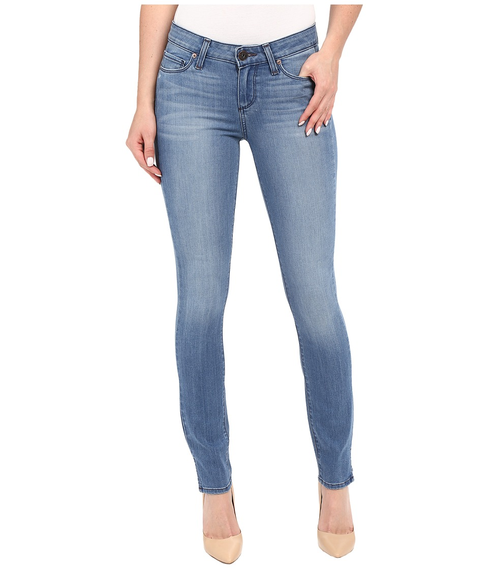 Paige - Verdugo Ankle w/ Side Slits in Harbor (Harbor) Women's Jeans