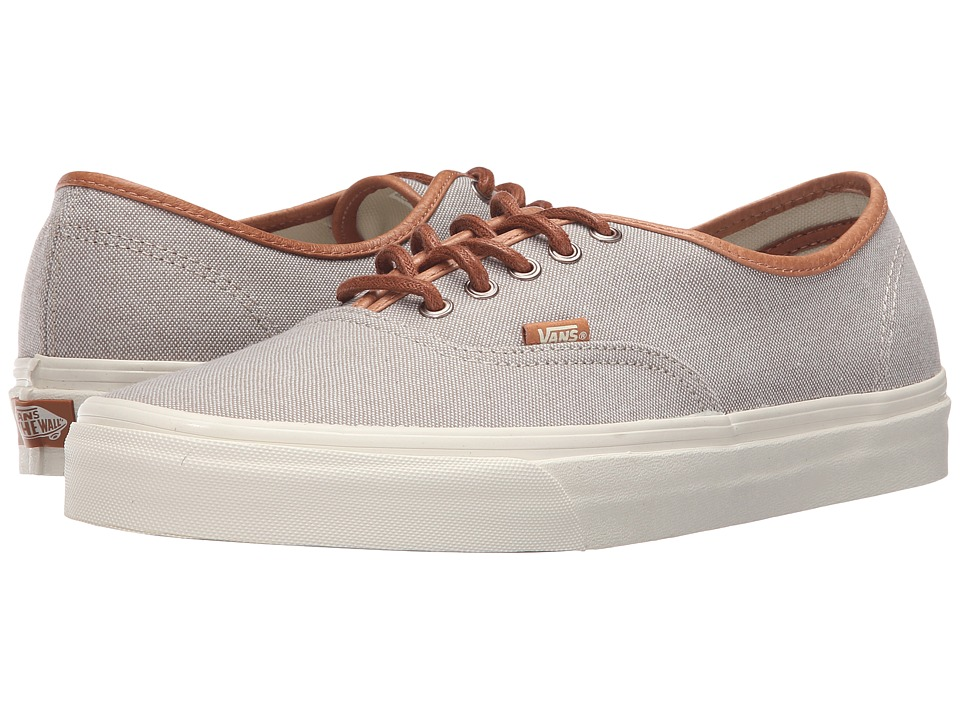 Vans - Authentic DX ((Brushed) Desert Taupe/Turtledove) Men's Skate Shoes