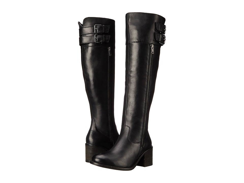 Blondo - Kamikaze Waterproof (Black Leather) Women's Cold Weather Boots