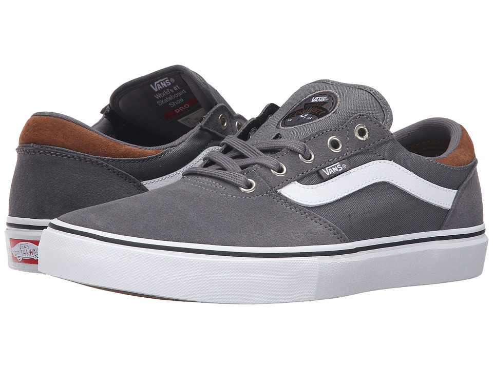 Vans - Gilbert Crockett Pro (Tornado/White) Men's Skate Shoes