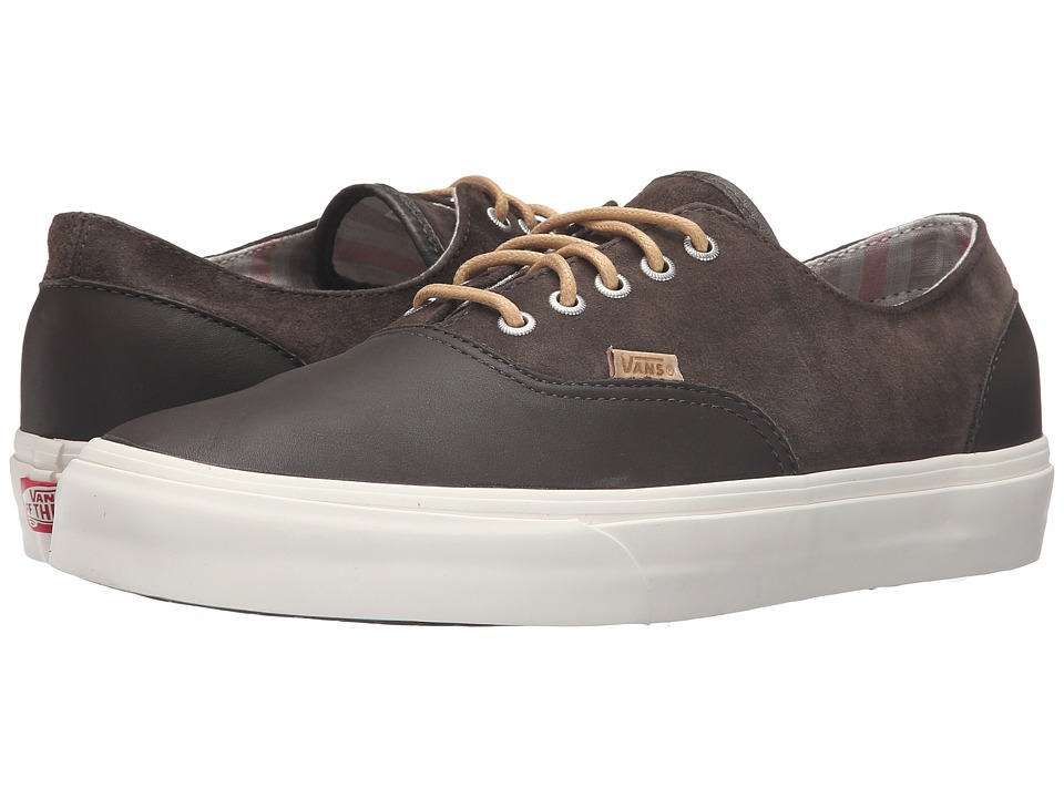 Vans - Era Decon DX ((Leather/Nubuck) Wren/Marshmallow) Men's Skate Shoes