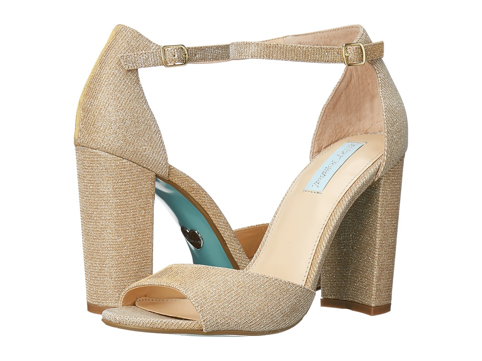 Betsey Johnson Carly (Gold) High Heels