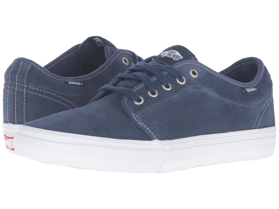 Vans - Chukka Low Pro ((Bandana) Insignia Blue) Men's Skate Shoes