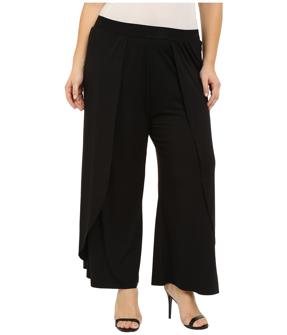 Rachel Pally Plus - Plus Size Justice Pants (Black) Women's Casual Pants