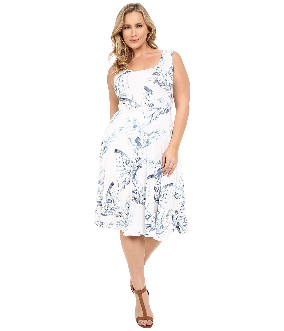 Rachel Pally Plus - Plus Size Stasia Dress (Eclipse Mariposa) Women's Dress