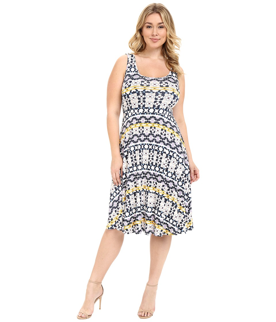 Rachel Pally Plus - Plus Size Stasia Dress (Morrocco Print) Women's Dress