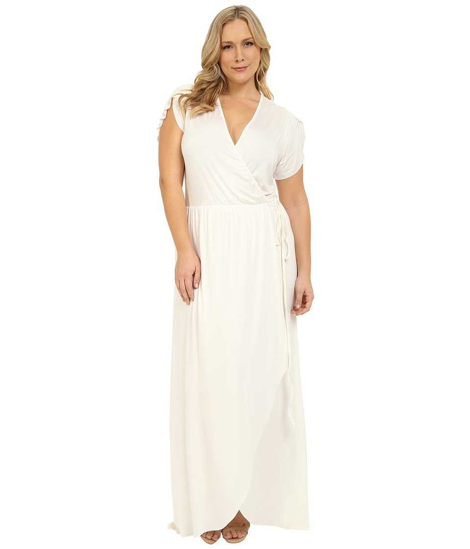 Rachel Pally Plus - Plus Size Perpetua Dress (White) Women's Dress