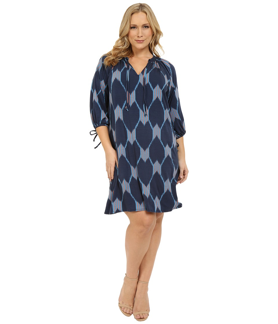 Rachel Pally Plus - Plus Size Mei Mei Dress (Java Print) Women's Dress