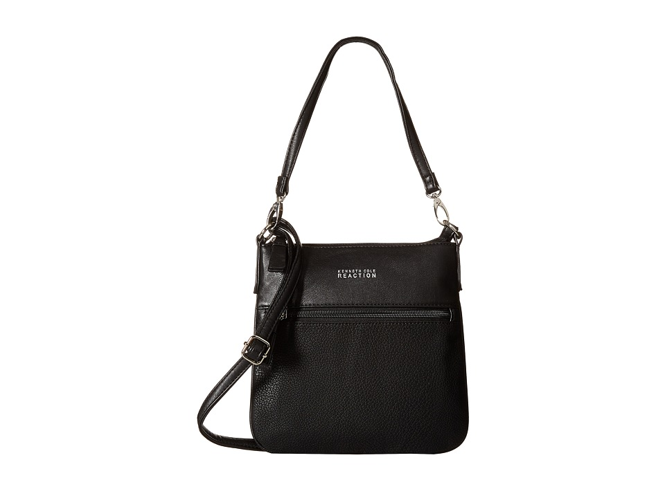 Kenneth Cole Reaction - Basix Crossbody (Black) Cross Body Handbags