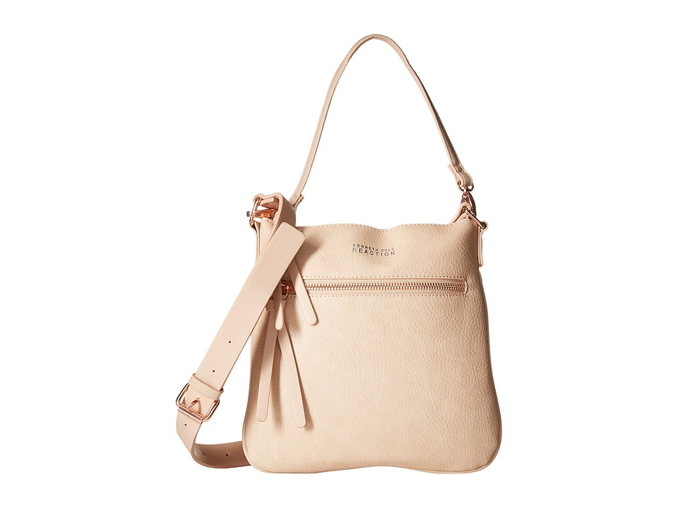Kenneth Cole Reaction - Heavy Metal Crossbody (Pale/Rose Gold) Cross Body Handbags