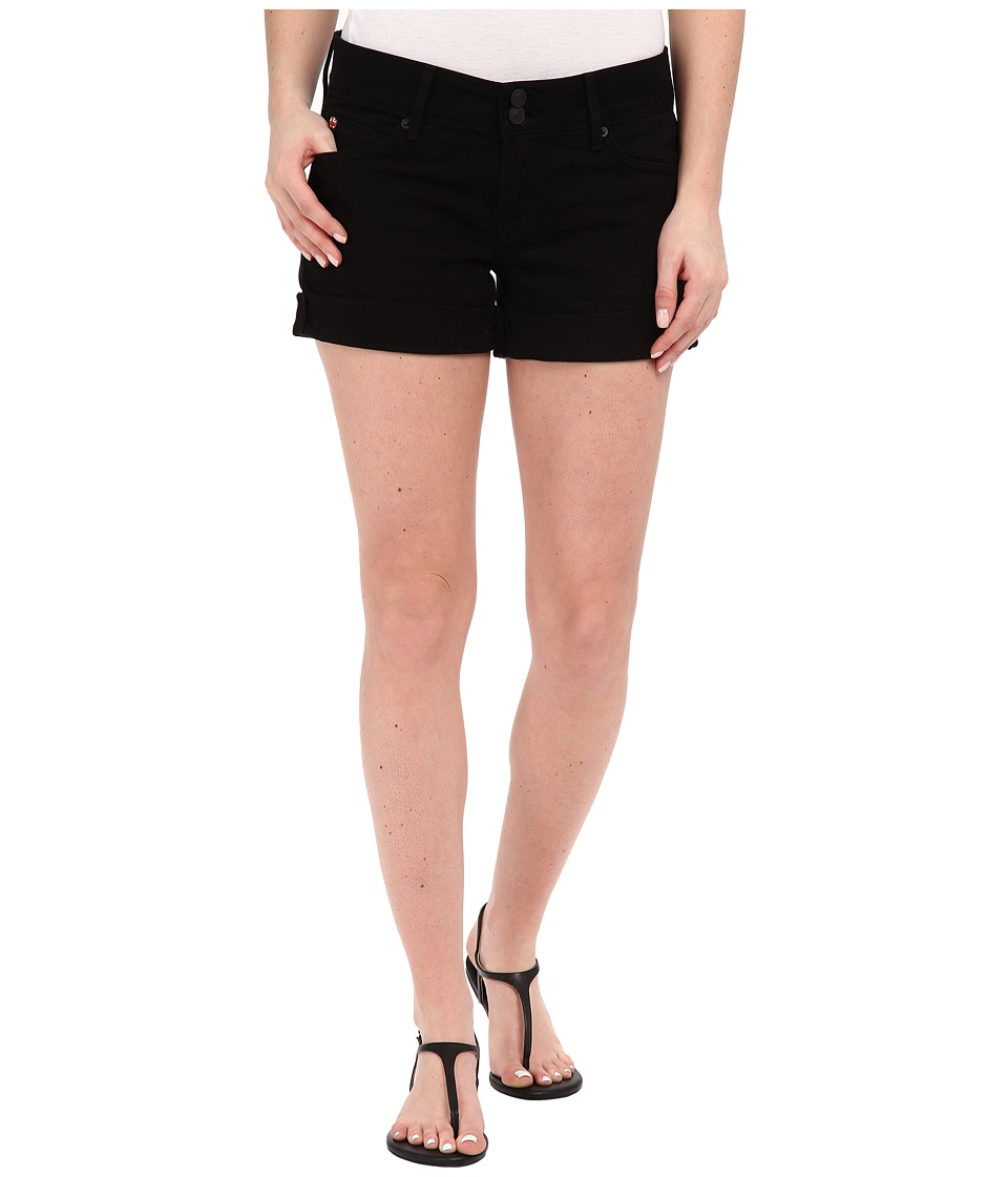 Hudson - Croxley Mid Thigh Shorts in Black (Black) Women's Shorts