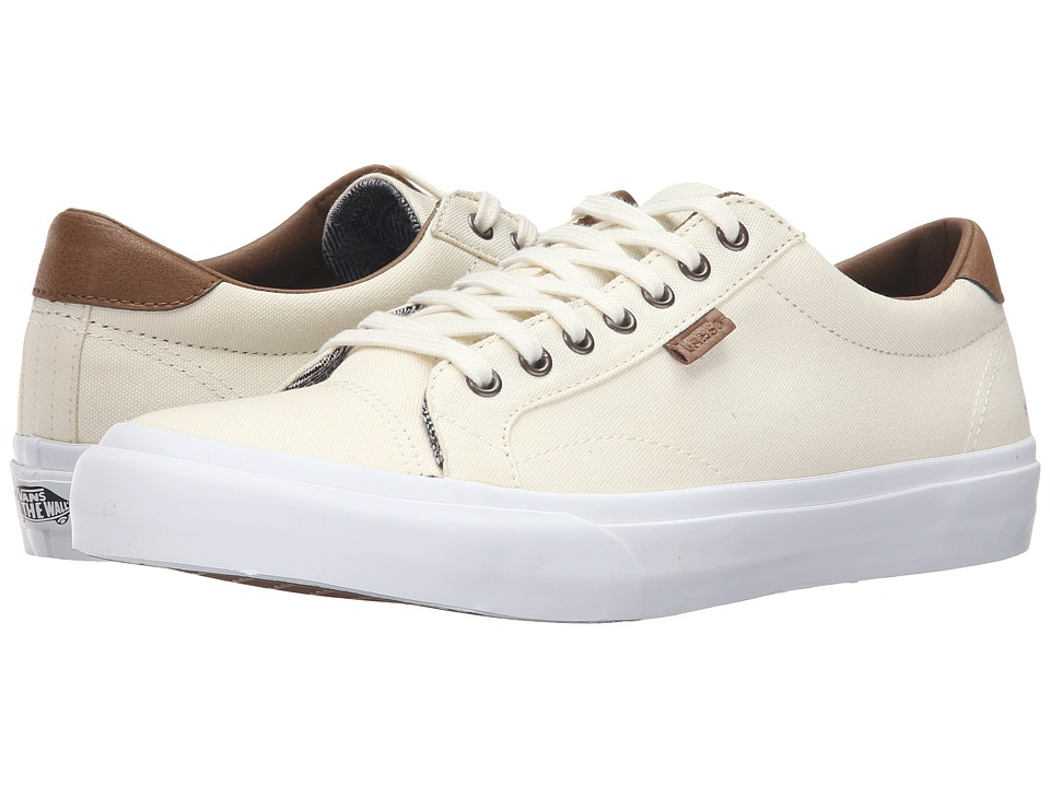 Vans - Court ((C&L) Classic White/True White) Men's Skate Shoes