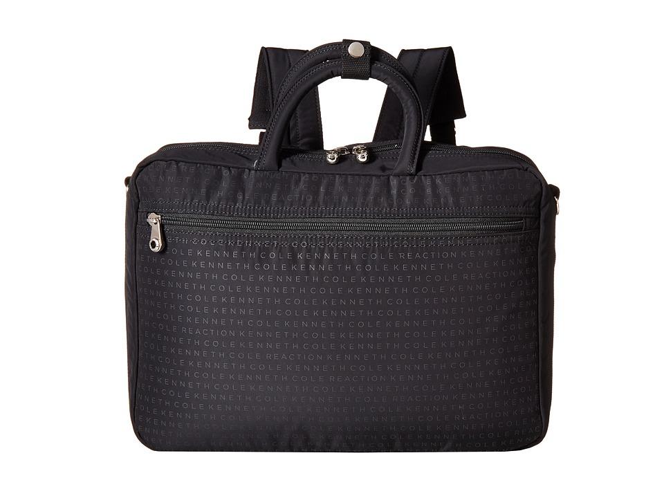 Kenneth Cole Reaction - Techni-Cole Convertible Tote (Black) Tote Handbags