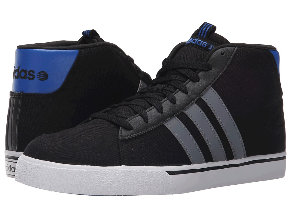 adidas - Daily ST Mid II (Black/Grey/White) Men's Shoes