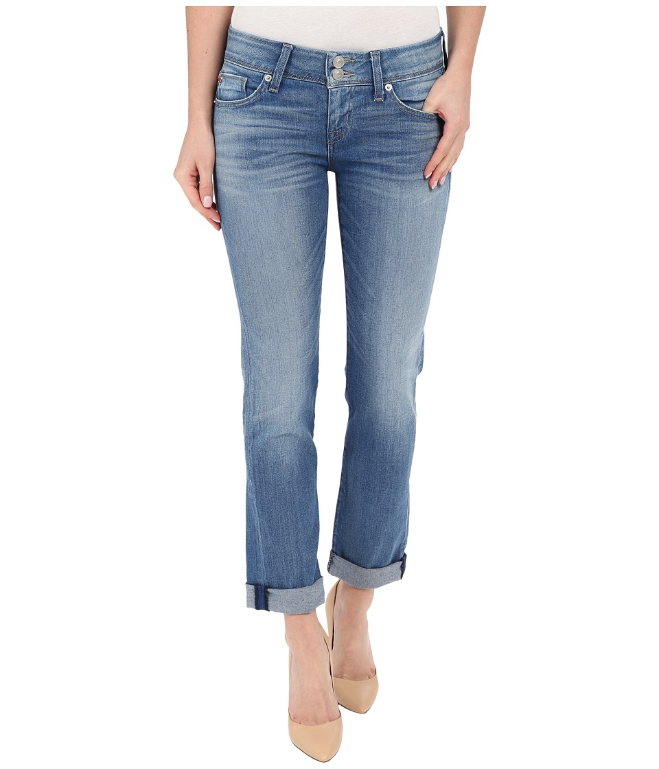 Hudson - Ginny Straight Ankle Crop with Cuff in Sunbelt (Sunbelt) Women's Jeans