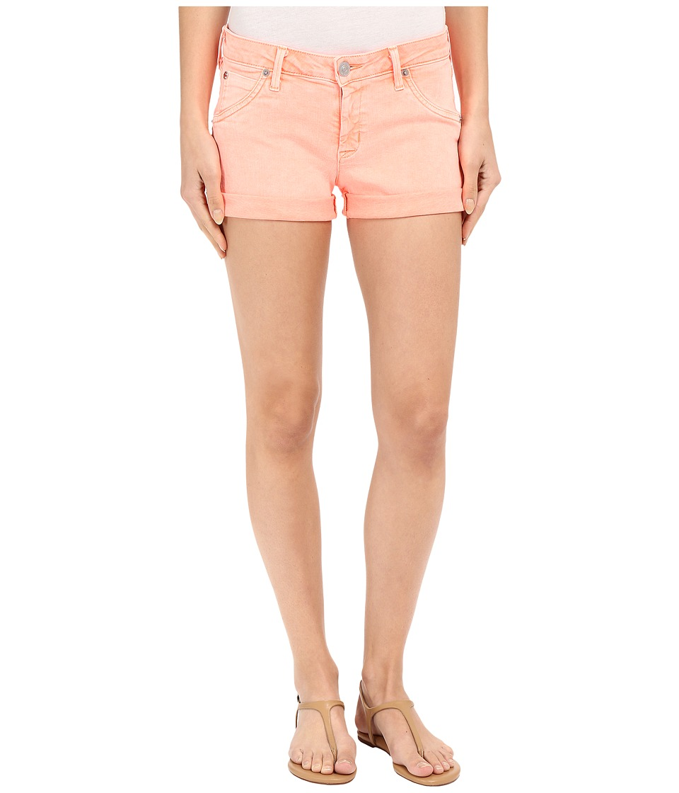 Hudson - Hampton Cuffed Shorts in Luminous Orange (Luminous Orange) Women's Shorts