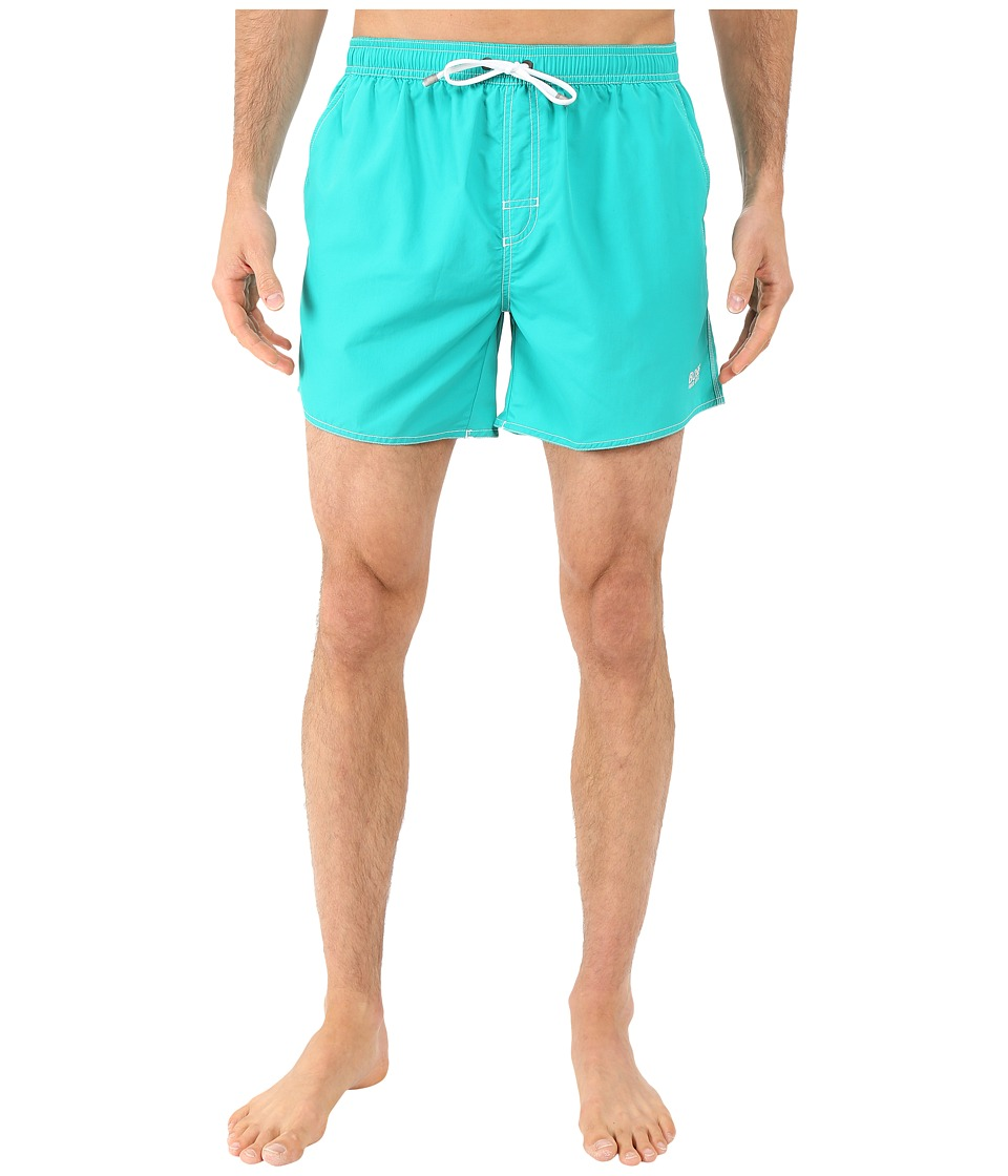 BOSS Hugo Boss - Lobster 10155742 01 Swim Shorts (Teal) Men's Swimwear