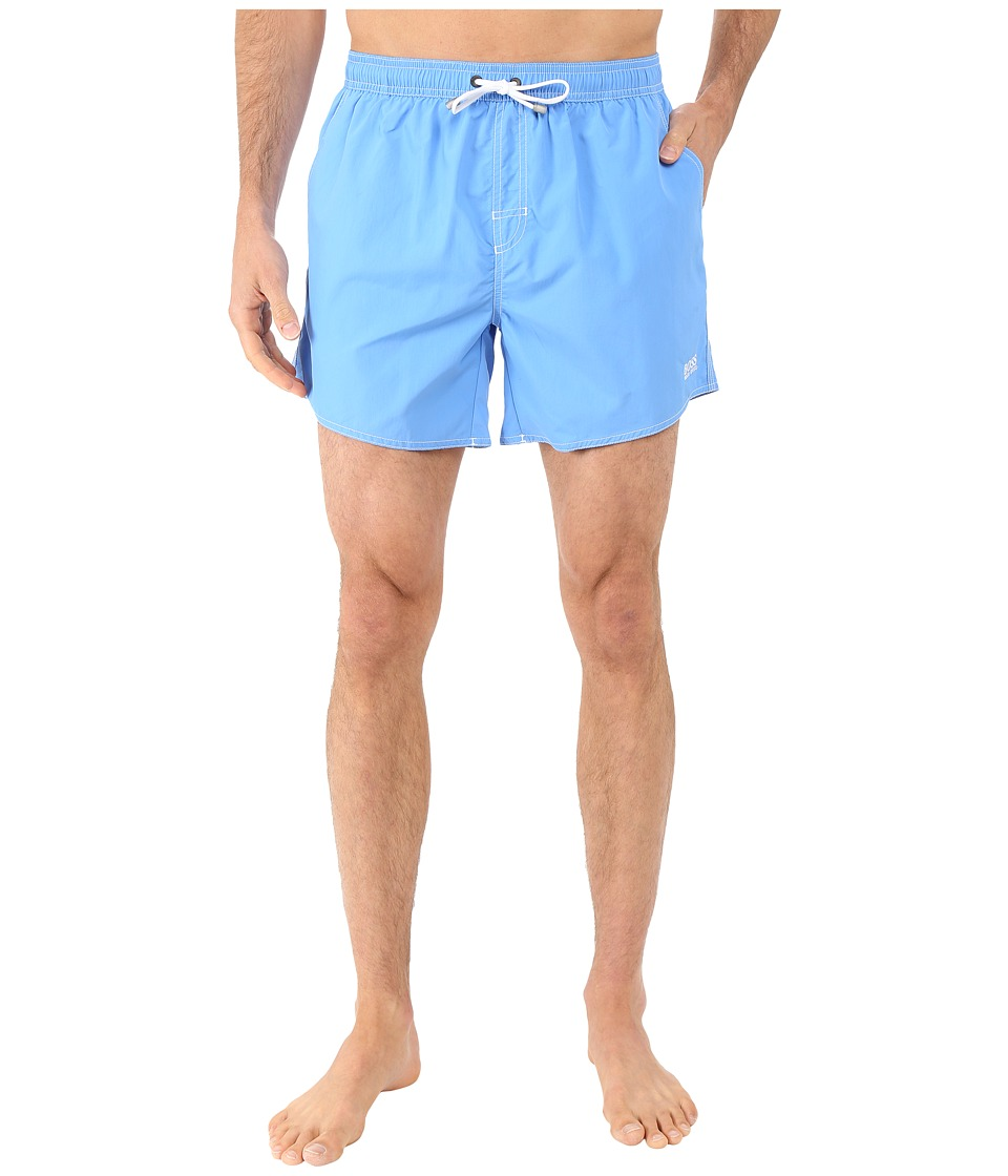 BOSS Hugo Boss - Lobster 10155742 01 Swim Shorts (Ice Blue) Men's Swimwear