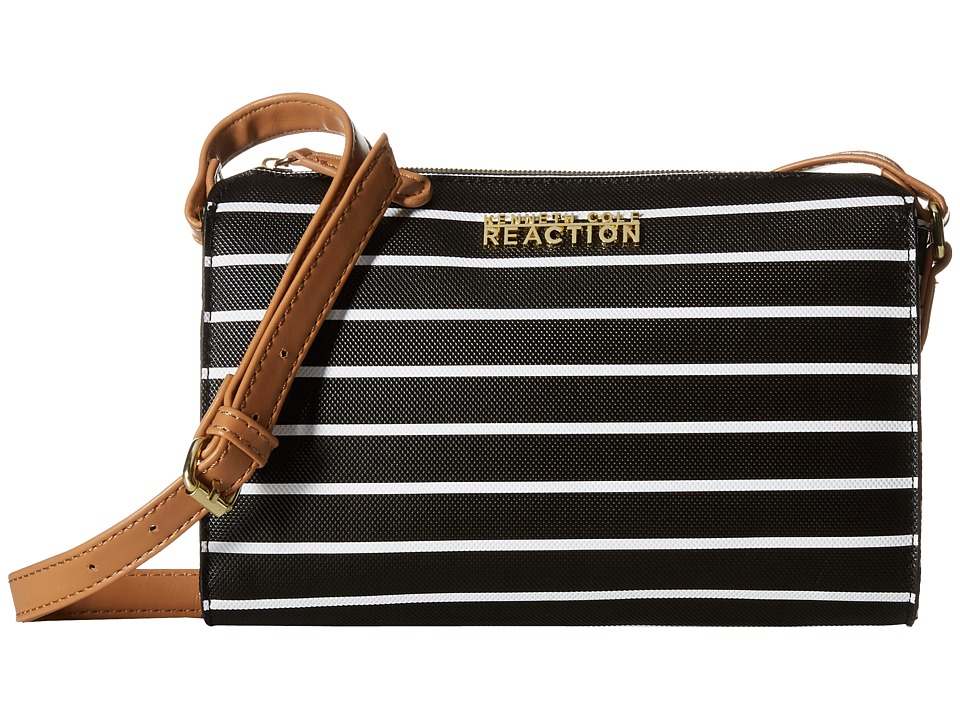 Kenneth Cole Reaction - Duplicator Stripe Mini (Black/White) Handbags