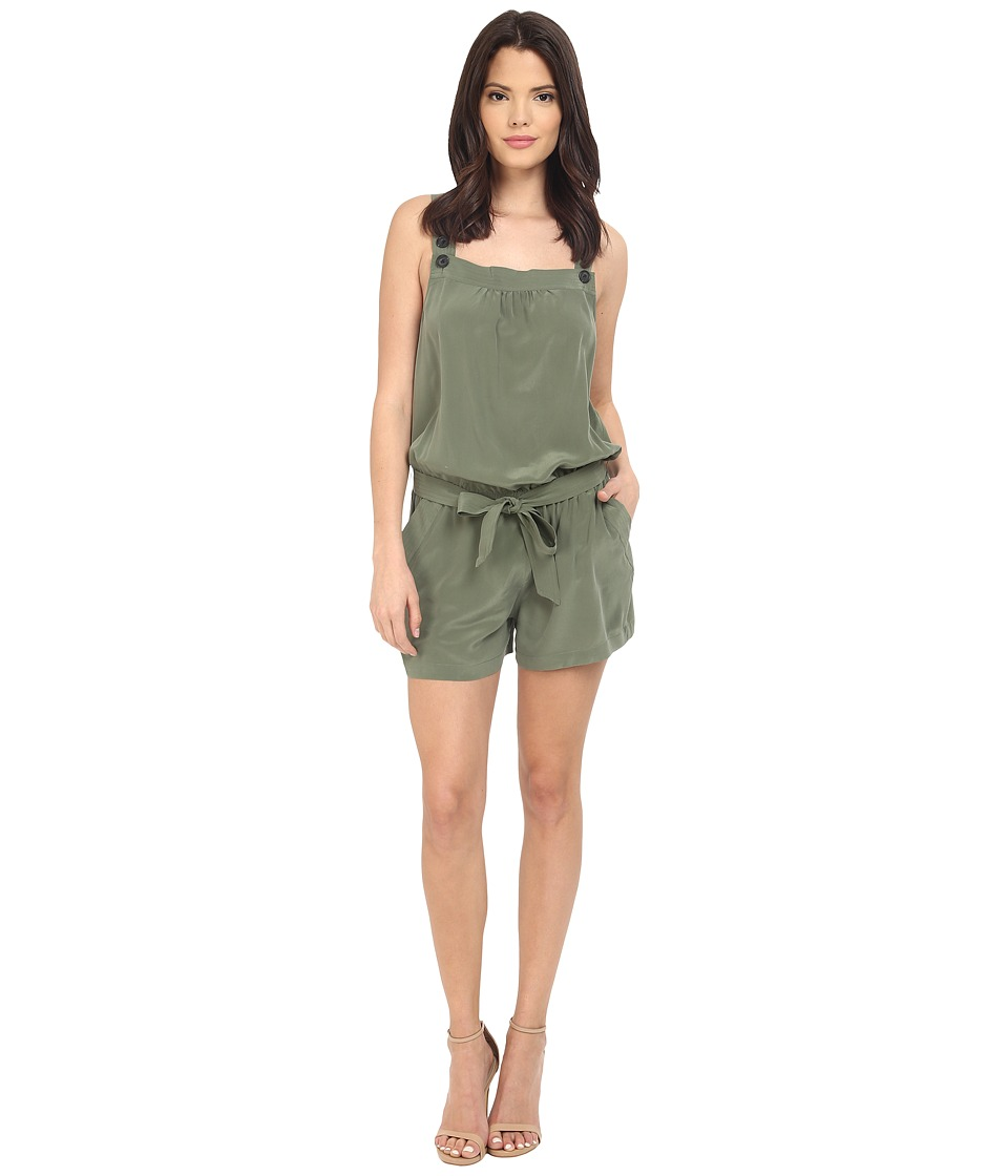 Joie - Baltazar Romper (Cypress) Women's Jumpsuit & Rompers One Piece