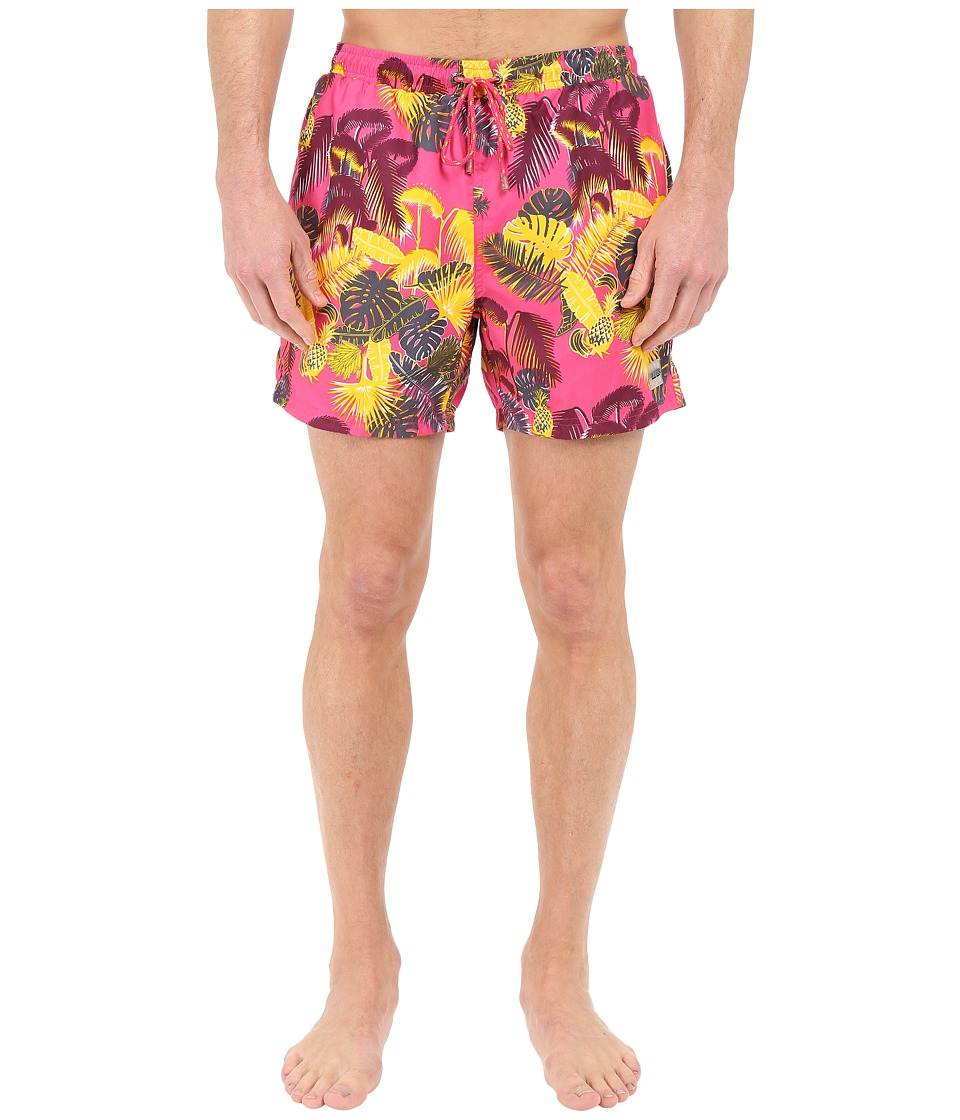 BOSS Hugo Boss - Piranha 10135293 06 Swim Trunk (Open Pink) Men's Swimwear