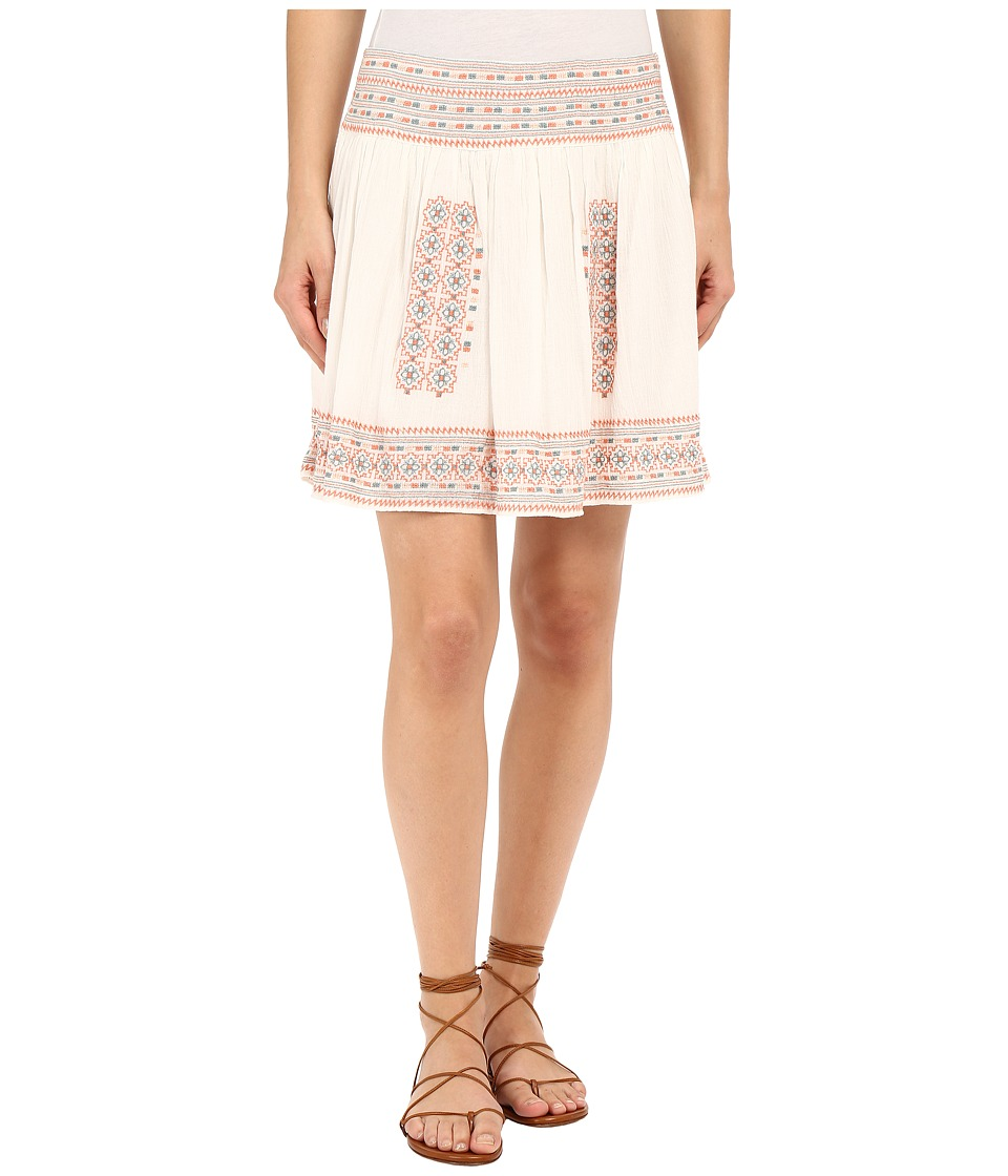 Joie - Shandon Skirt (Porcelain/Pale Peach) Women's Skirt