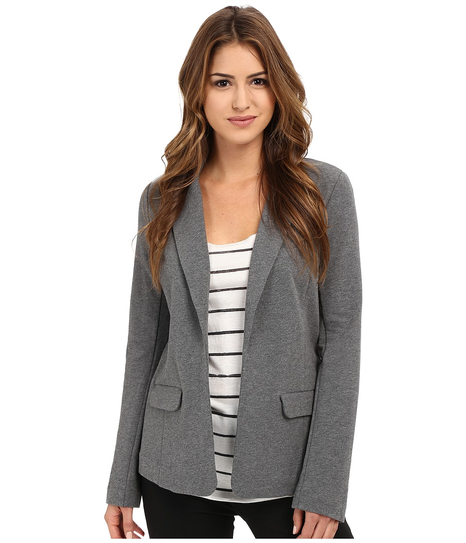 Joie - Camylle Blazer (Dark Heather Grey) Women