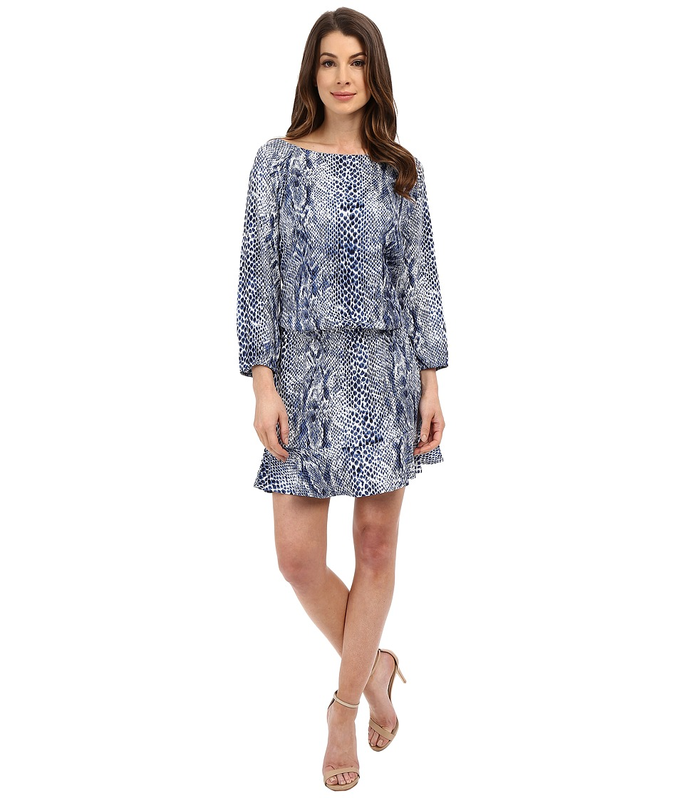 Joie - Arryn B 5097-31822B (Porcelain/Peacoat) Women's Dress