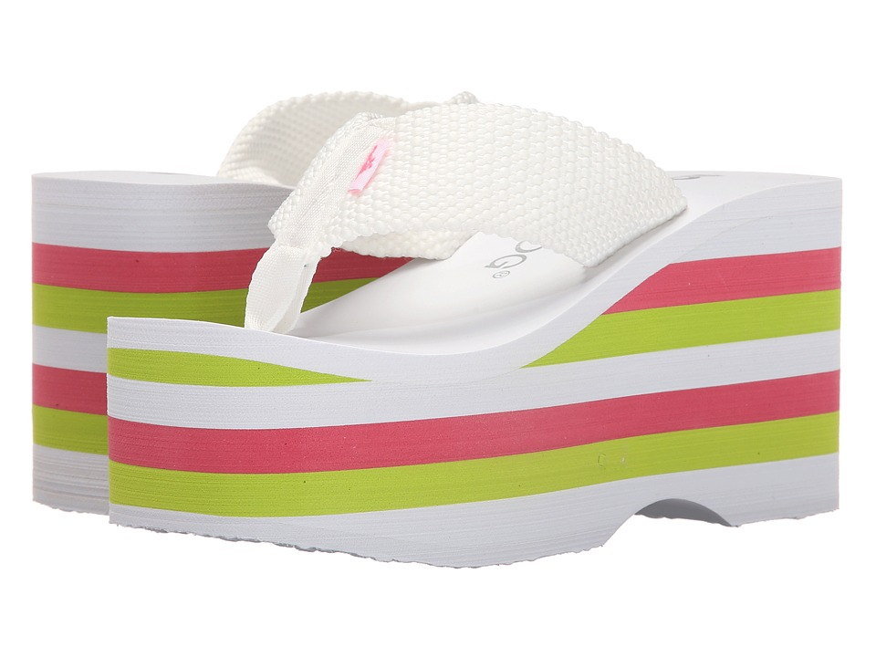 Rocket Dog - Bigtop (White Webbing Multi) Women's Sandals