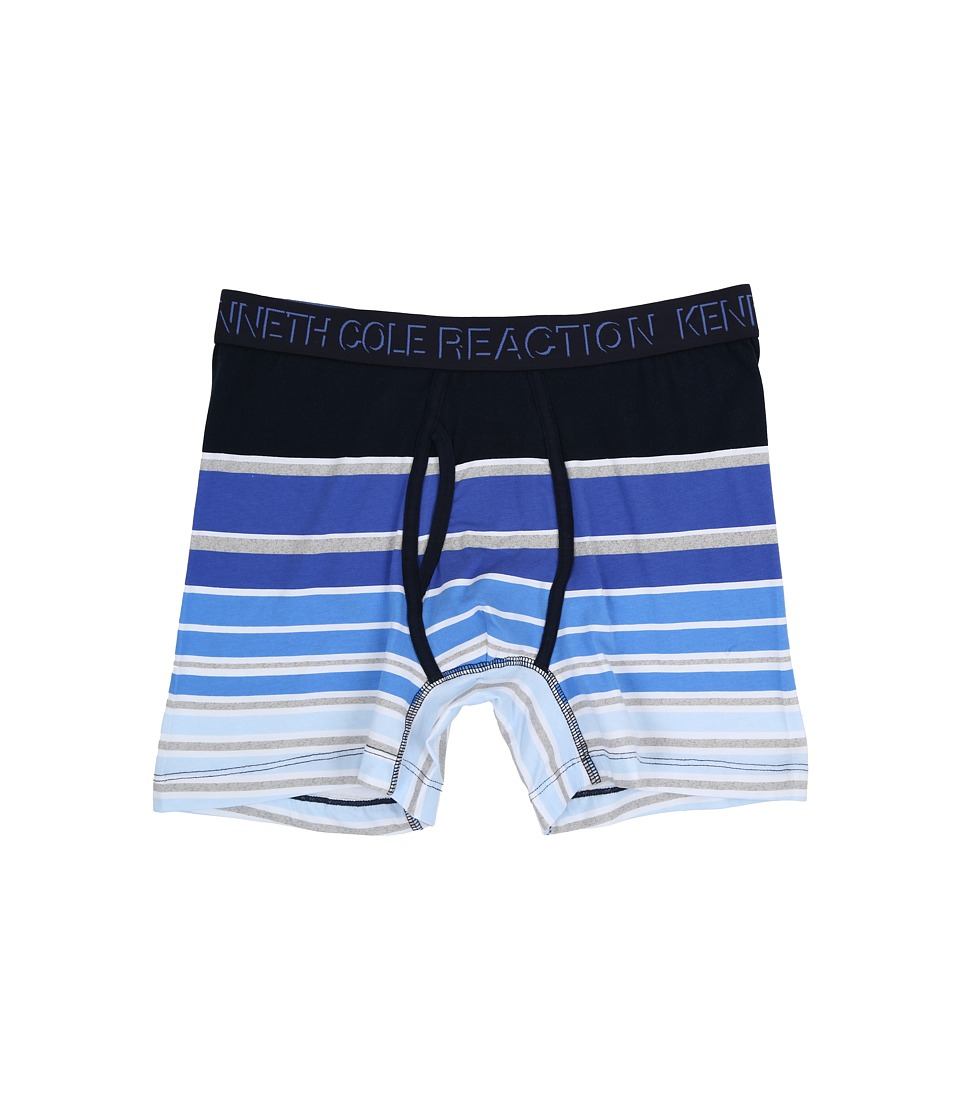 Kenneth Cole Reaction - Boxer Brief (Blue Shades Rugby) Men's Underwear