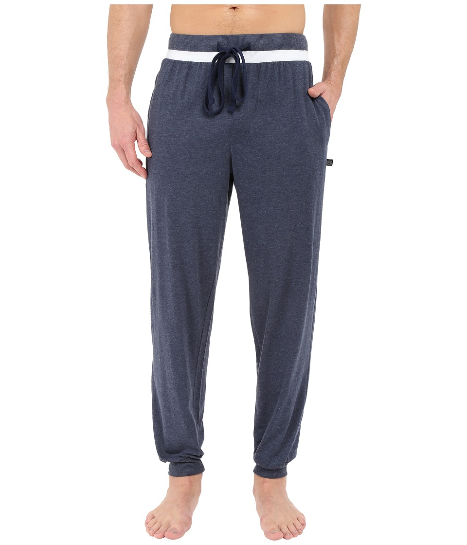 Kenneth Cole Reaction - Banded Pants (Navy) Men's Pajama