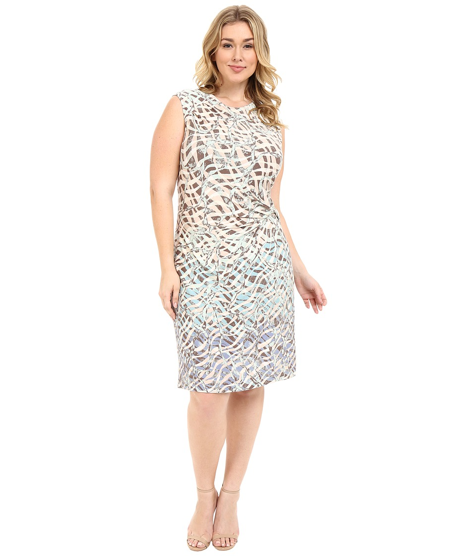 NIC+ZOE - Spring It on Twist Dress (Multi) Women's Dress