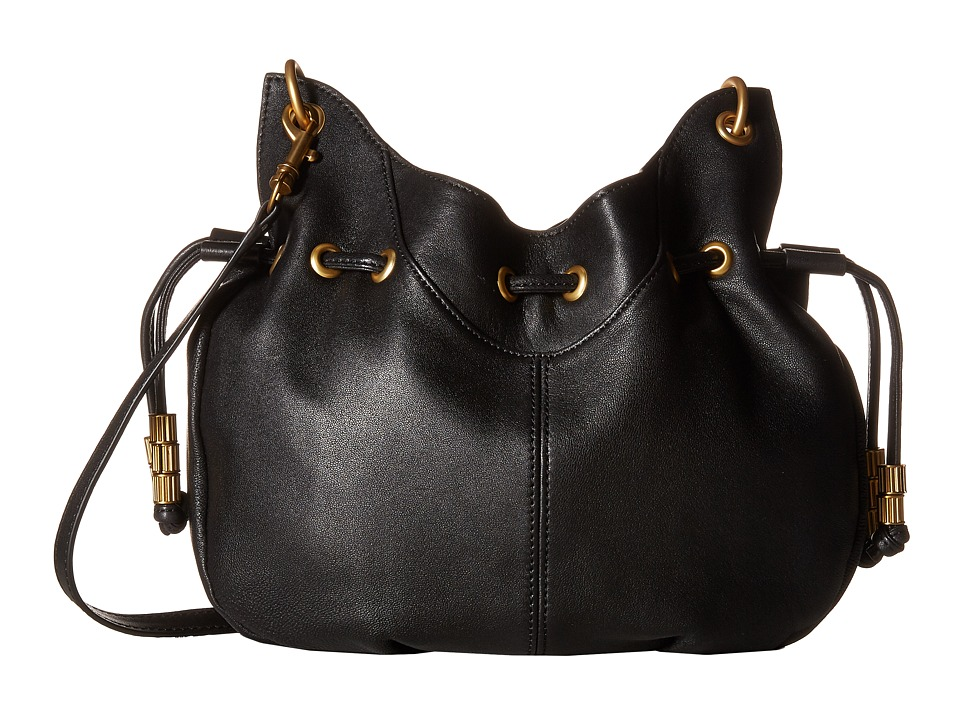 SJP by Sarah Jessica Parker - Patchin (Noir Leather) Handbags