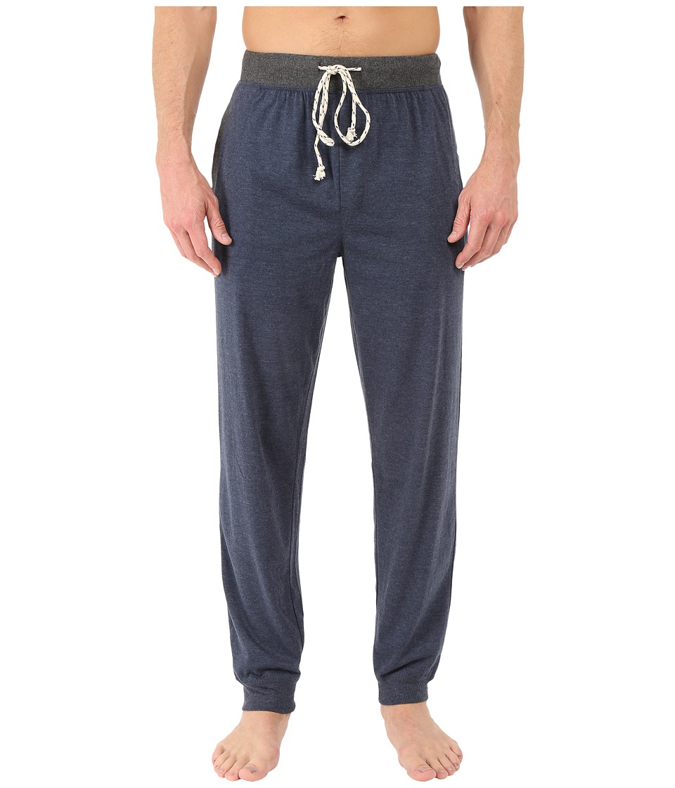 Kenneth Cole Reaction - Cuffed Pants (Navy) Men's Pajama