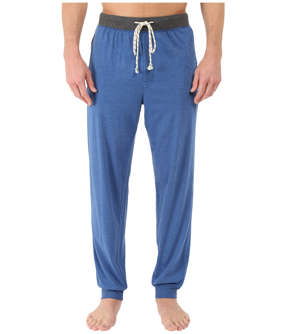 Kenneth Cole Reaction - Cuffed Pants (Dark Blue) Men's Pajama